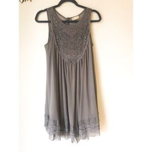 Altar'd State | Lace Boho Shift Dress Size Small